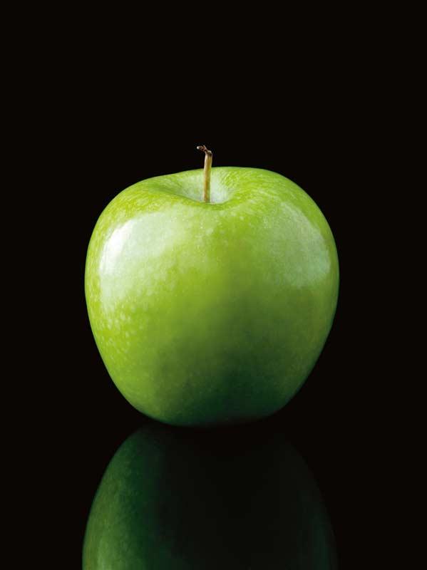 world as an apple
