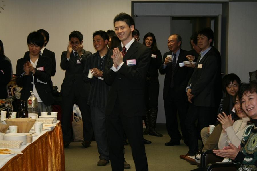 World Campus International Tokyo reception: guests enjoying the reception
