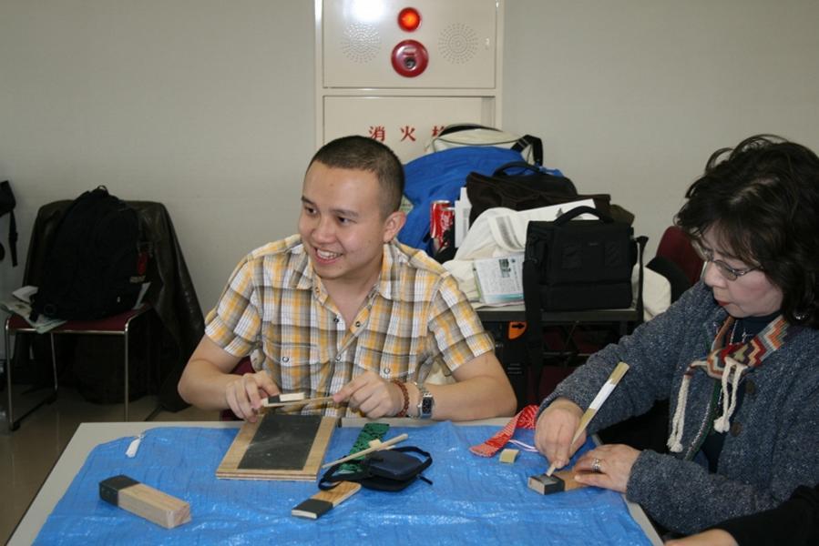 crafting chopsticks