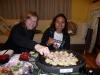 cooking tasty Japanese food takoyaki