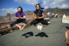 Flying on Mount Aso