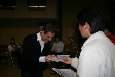 Graduation: Eric from Luxemburg
