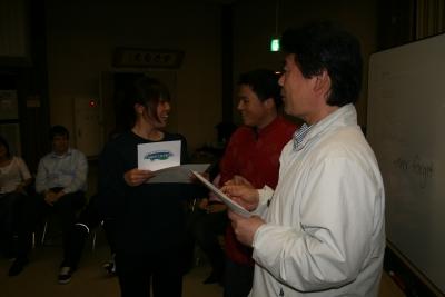 Graduation: Shoko from Japan