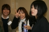 Japanese participants - Syoko, Nozomi, and Kaho