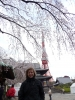 perfect picture cherry blossoms Toyko tower a Birdy