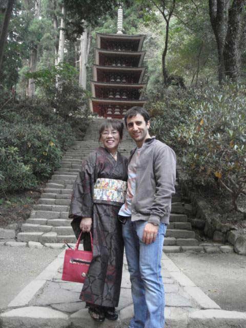 Cirque du Soleil '09: At Murou-ji Temple