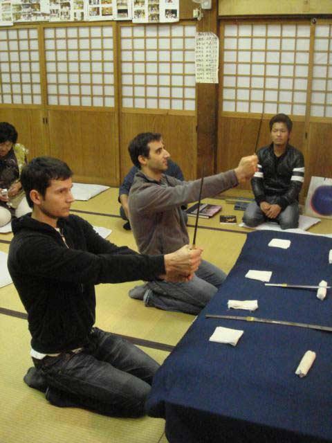 Cirque du Soleil '09: Japanese sward experience