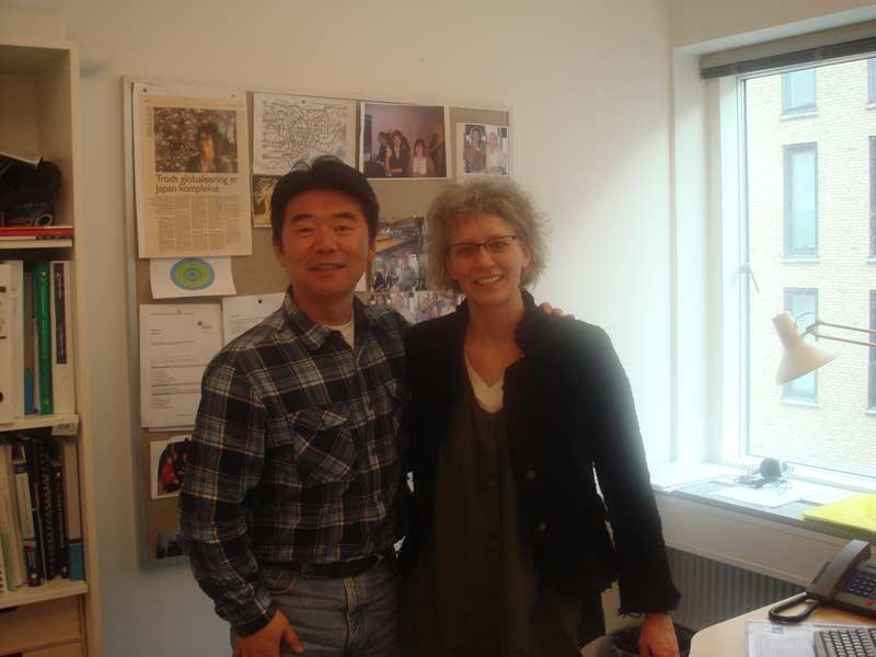 Hiro met with Lisbeth Clausen