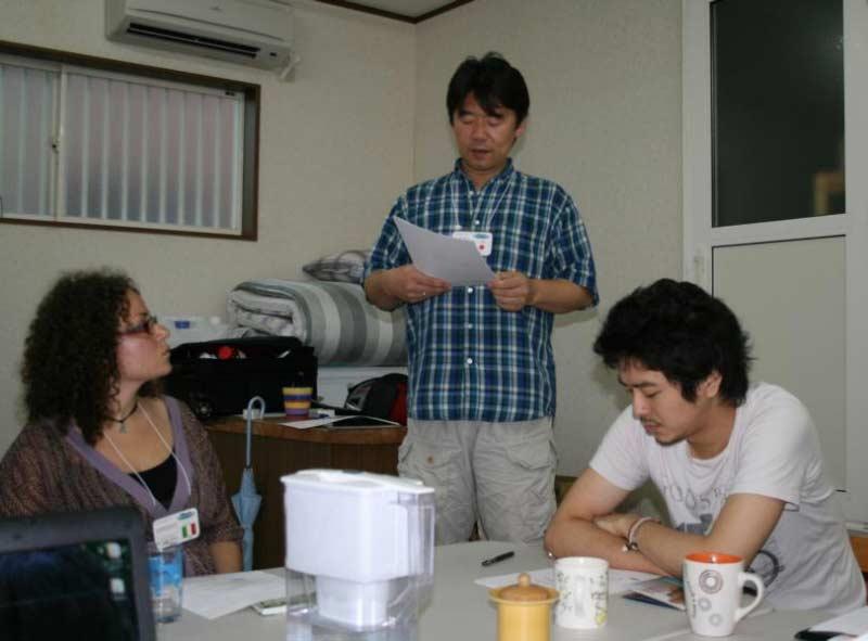 WCI Staff Training Day One in Summer '09