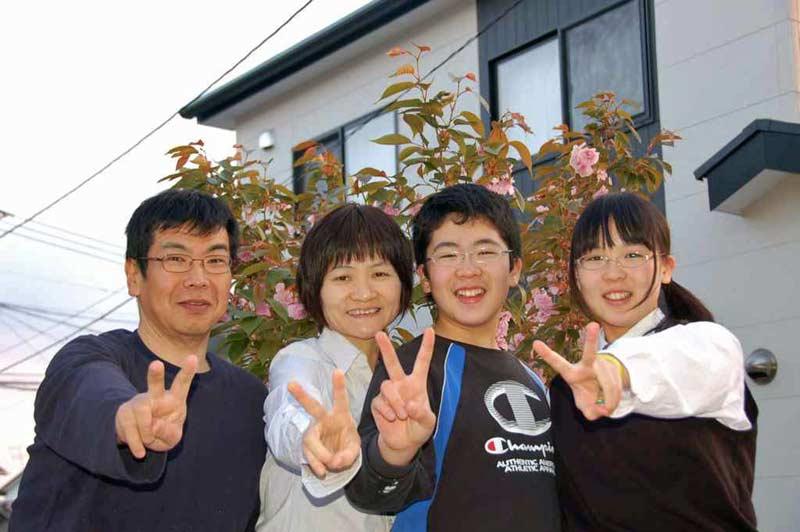 Matsuda family from Omuta city, Fukuoka