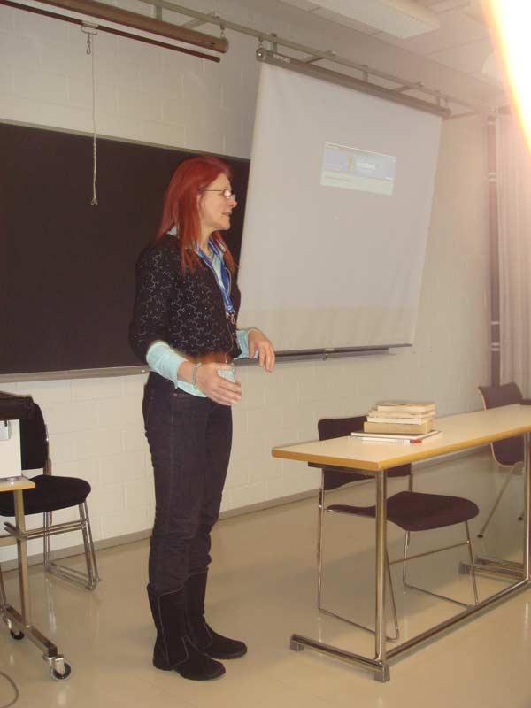 WCJ Presentation in Finland