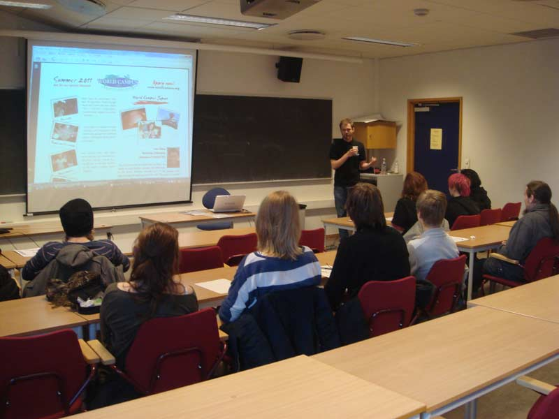 WCJ Presentation in Oslo