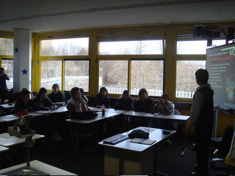 WCI Program Presentation at Carl von Ossietzky School in Wiesbaden
