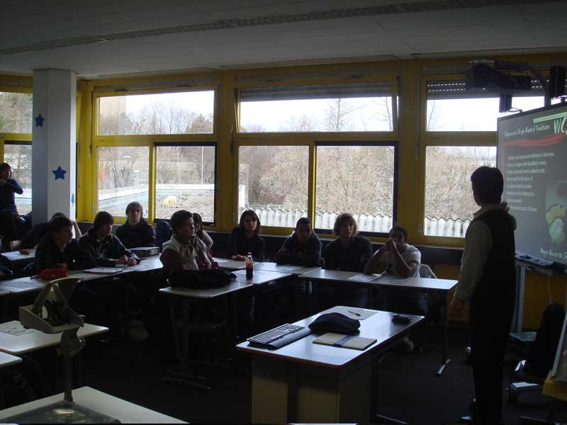 WCI Program Presentation at Carl von Ossietzky School in Wiesbaden