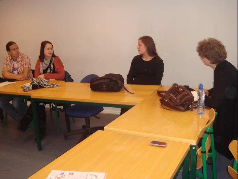 WCI Program Presentation at Copenhagen University
