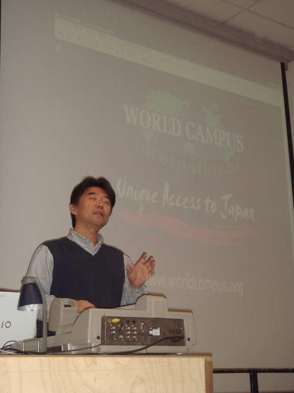 WCI Program Presentation at Gent Univeristy