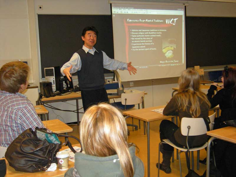WCI Program Presentation at Helsingin Luonnontiedelukio