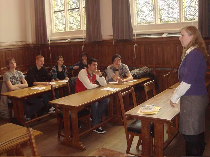 WCI Program Presentation at Leiden University