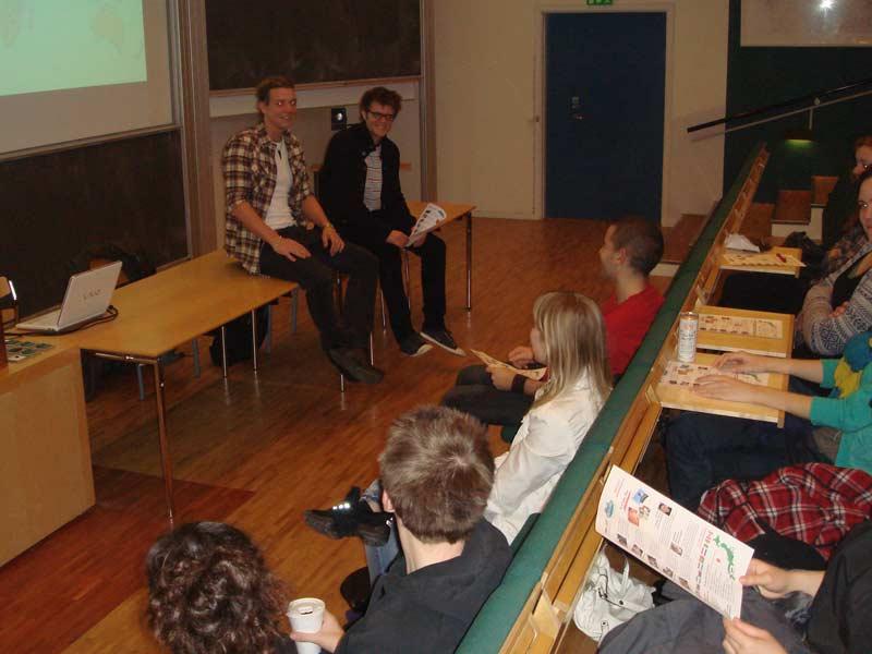 WCI Program Presentation at Roskilde University