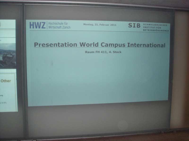 Zürich presentation