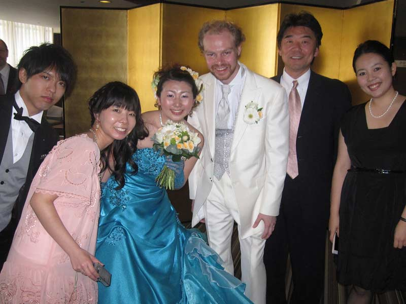 wedding of Jotter and Hatsumi