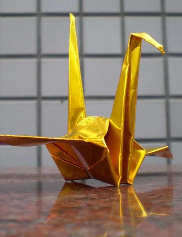 Gold Crane