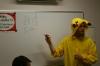 pikachu teaching class