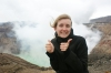 volcano receives two thumbs up