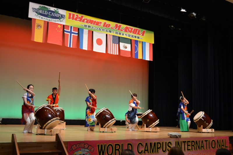 The first WCJ day in Masuda