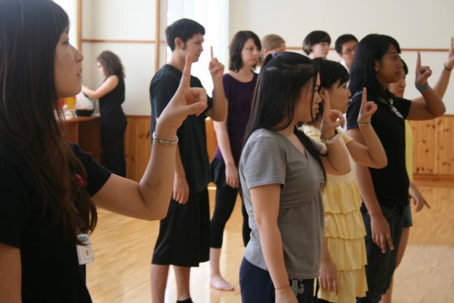 Arigato Event Practice