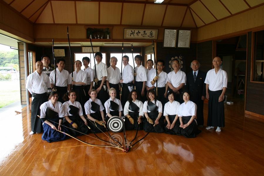 kyudo masters & guests
