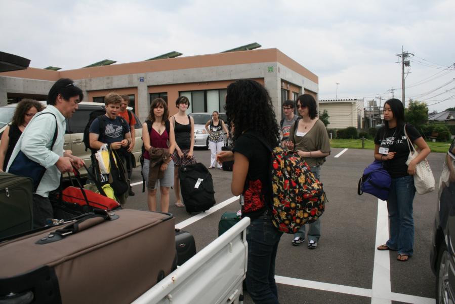 Arrival in Omura