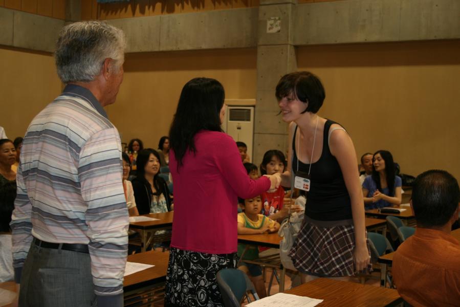 Meeting Japanese Host Family