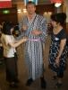 David in Japanese Yukata
