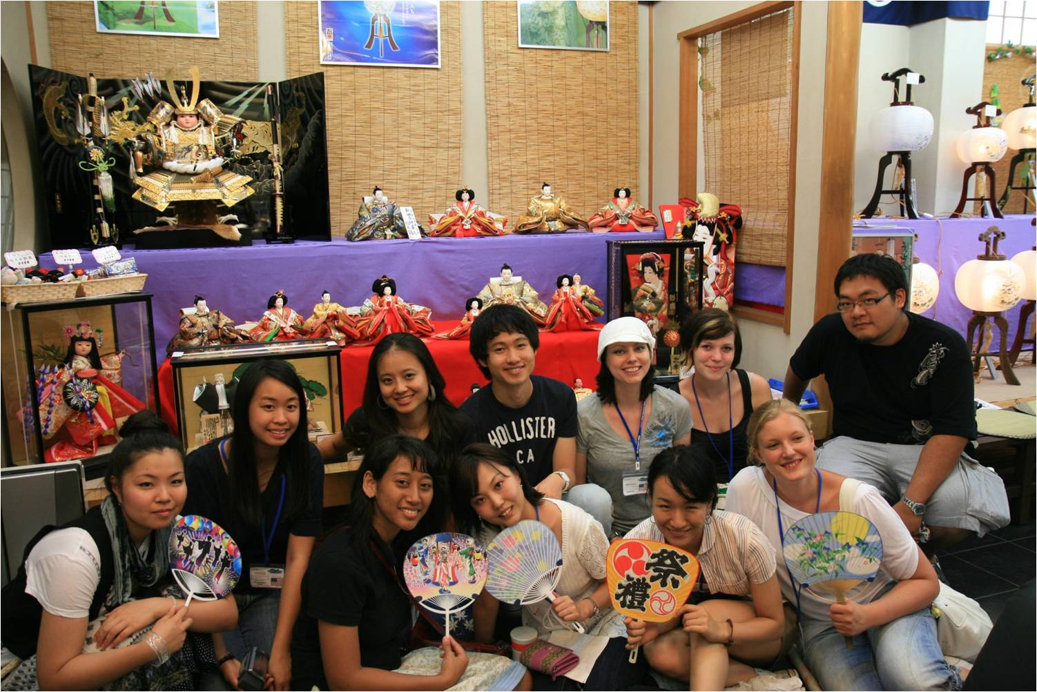 Group at Hinamatsuri Doll Shop