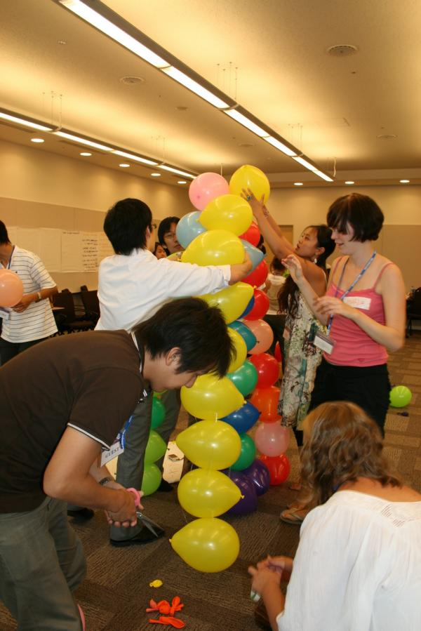 Team Building with ExxonMobil Emloyees