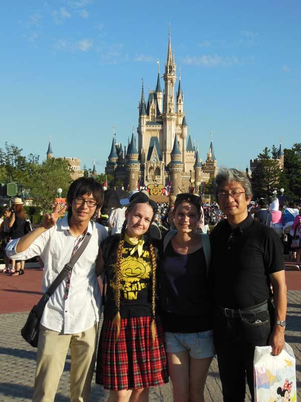 Hostfamily day at Disneyland