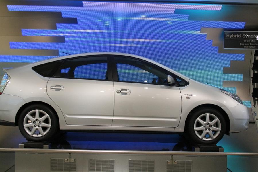 a Toyota hybrid car