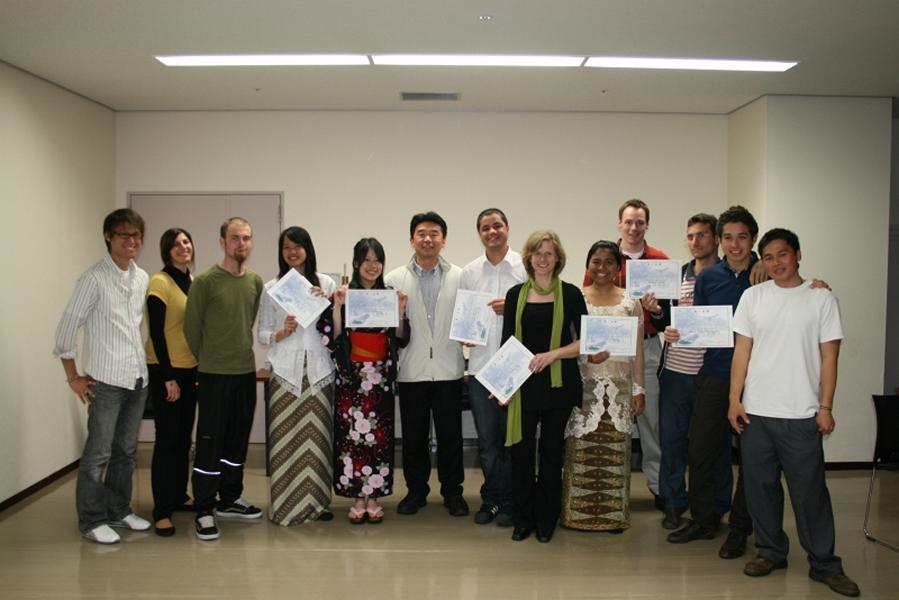 spring 2009 program 2 graduation