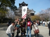 host family day at Nagoya Castle