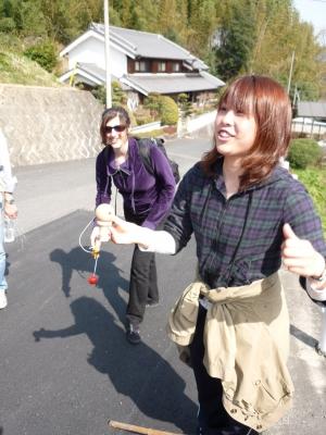 Fun with kendama