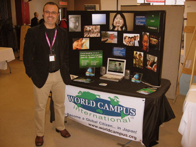 WCI's Bob Sloat at the Bishop University Fair