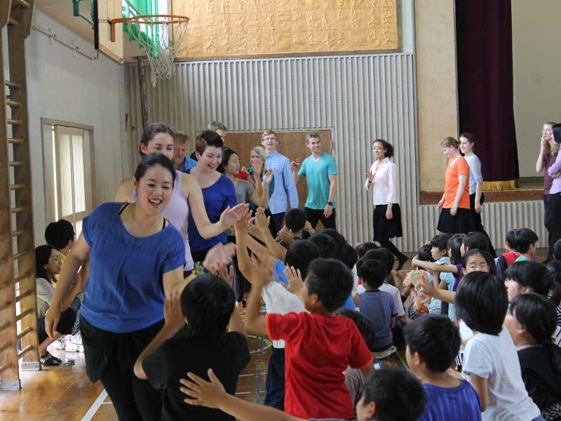 Midorigaoka Elementery school visit