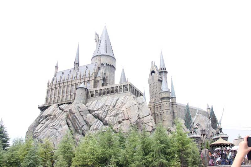 Universal studios and Harry Potter!