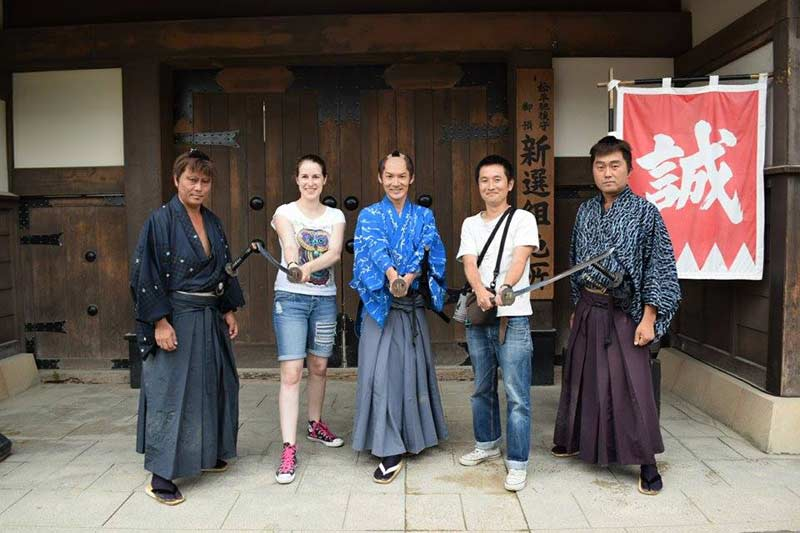 Host Family Day in Kyoto