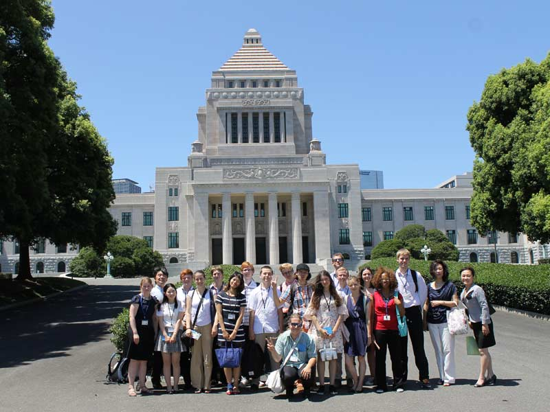 Travel Day and the National Diet