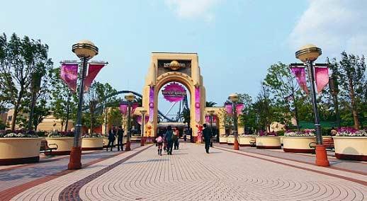 Universal st entrance