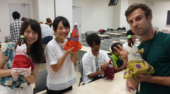 Our last day in Abiko: Chou Gakuin University