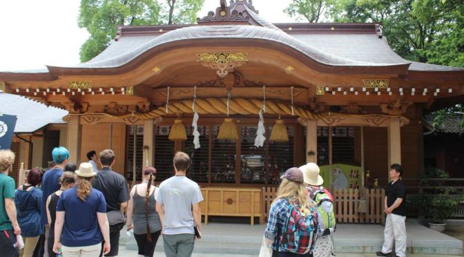 Shinto shrine day3 omura