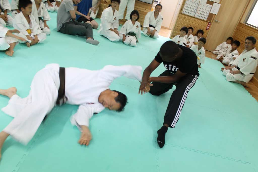Zuvan throwing sensei day3 omura